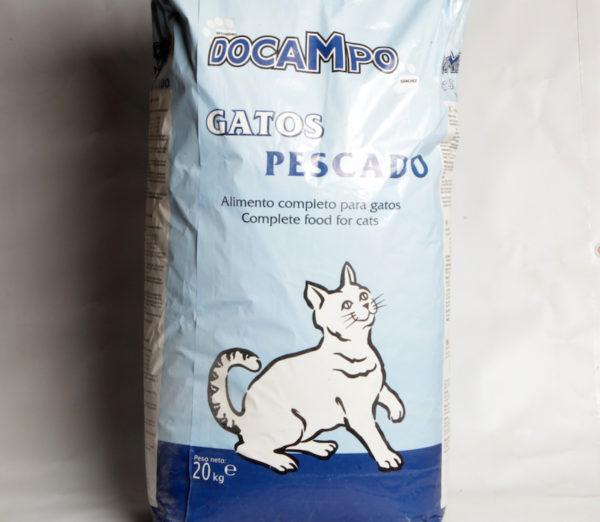 Pescado Gatos Docampo 20Kg