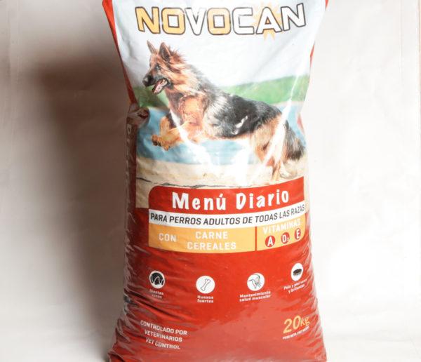 Carne Cereais Cans Novocán 20Kg