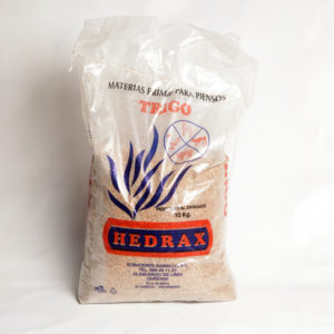 Materia prima para pensos trigo HEDRAX 10 kg